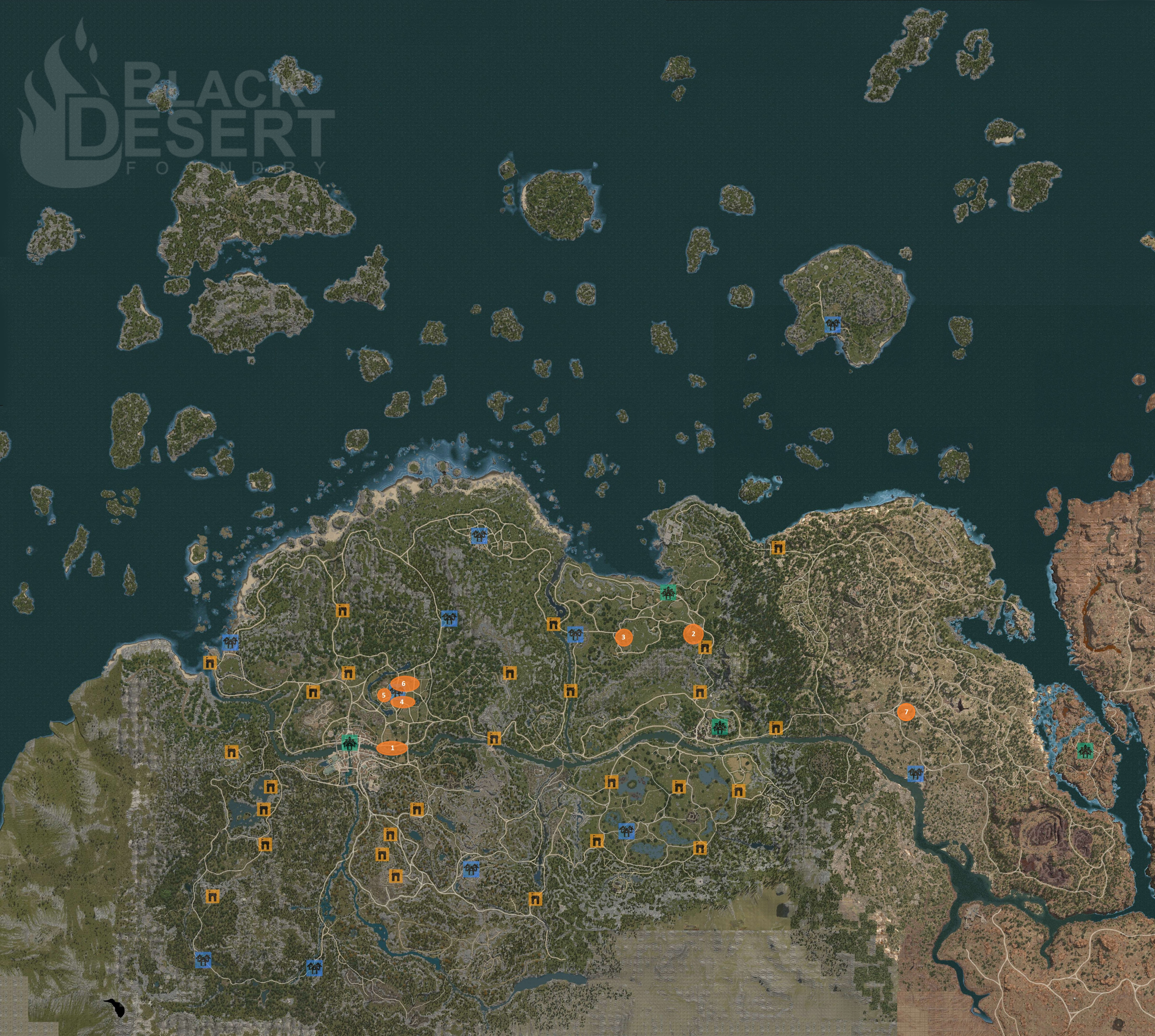 Gathering guide bdfoundry click the map to view it full size gumiabroncs Gallery